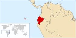 Mapa de localización de Ecuador (wikipedia)