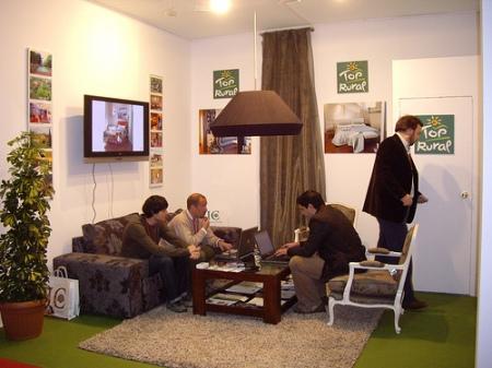 Stand de Toprural en Fitur 2008