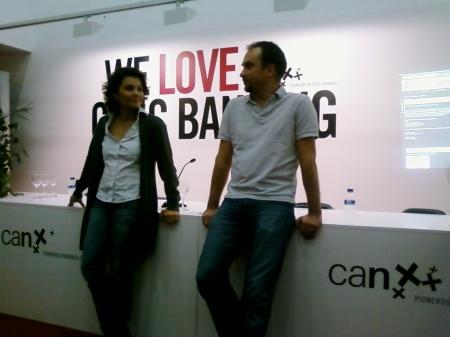 Marta Esteve y François Derbaix en Iniciador