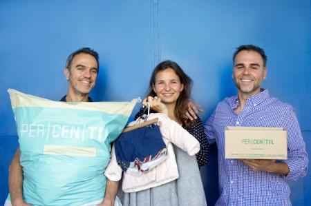 Fundadores de Percenil: Daniel, Lourdes y Luis